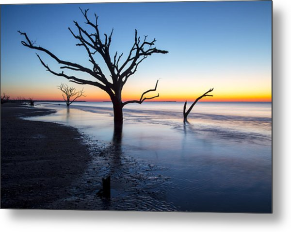 Ghost Trees Of Boneyard Beach 10 Metal Print