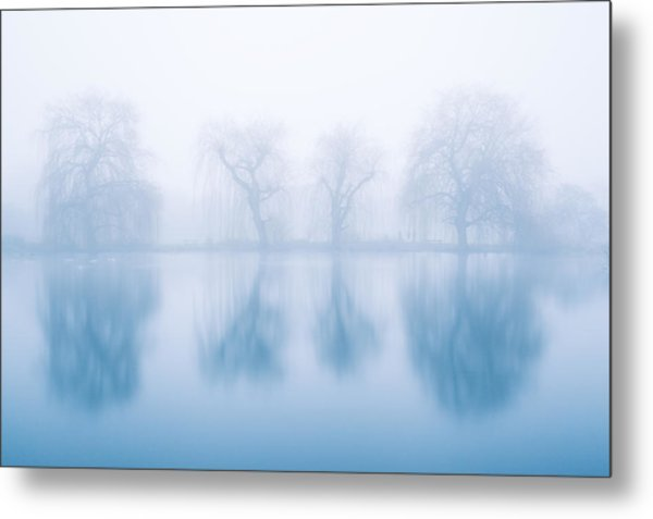 Ghostly Reflections Metal Print