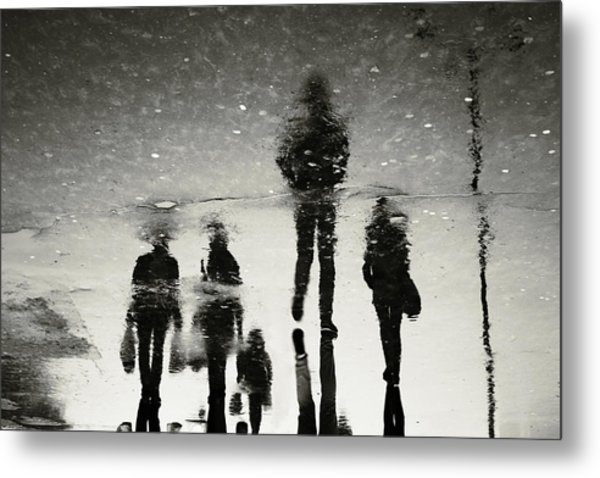 Ghosts Of The City Metal Print