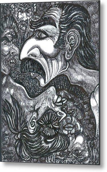 Giacomo And Friends Metal Print