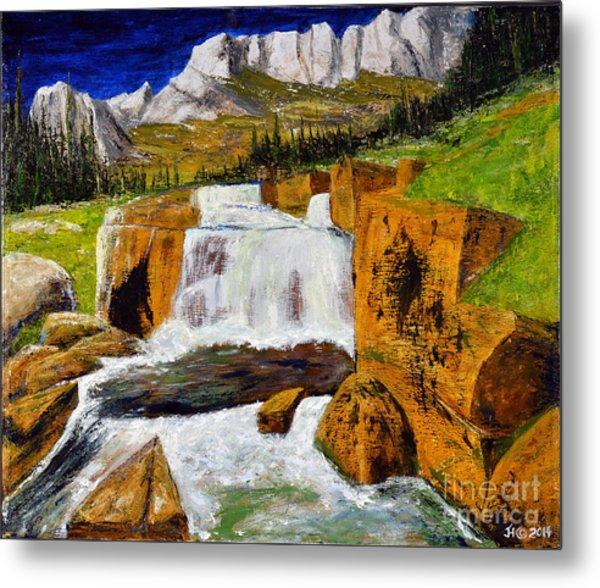 Giant Steps Waterfall Metal Print