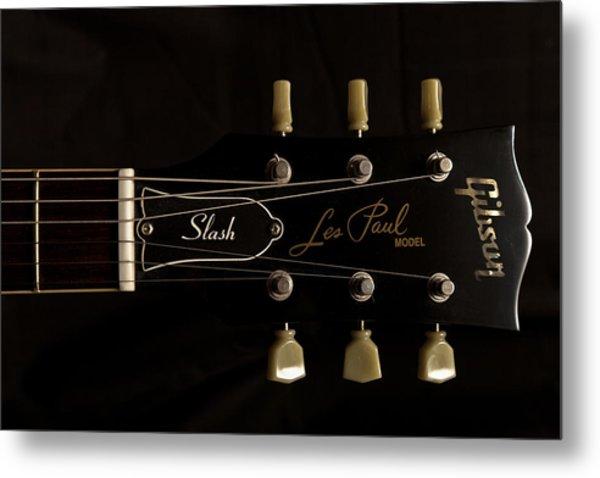 Gibson Les Paul Model Metal Print by Maj Seda