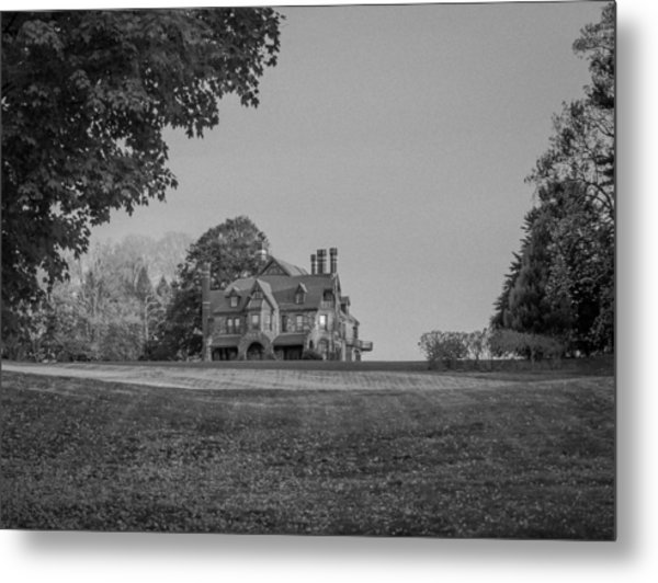 Gilded Age Mansion Metal Print