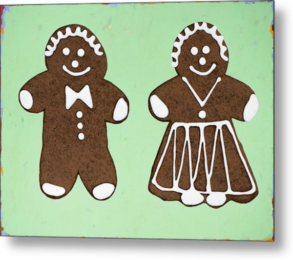 Ginger Pair Metal Print