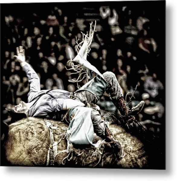 Giving It Everything Metal Print by Lincoln Rogers