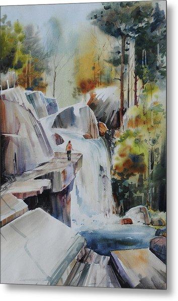 Glacial Quarries Metal Print