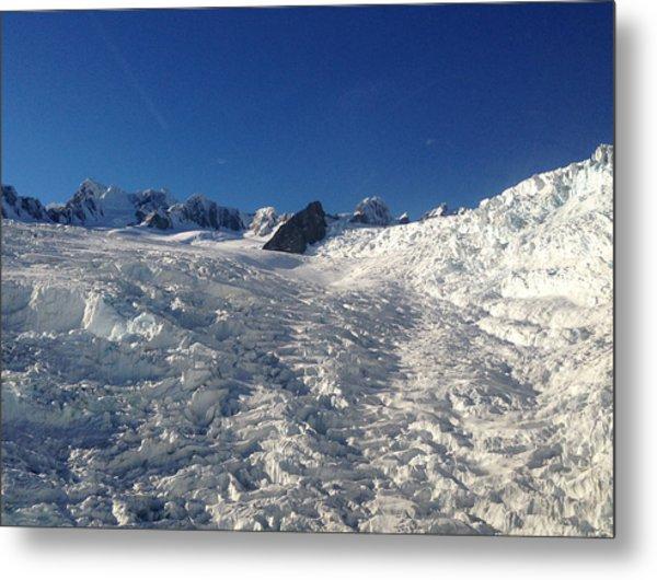 Glacier Metal Print by Ron Torborg