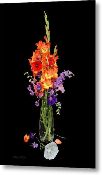 Glad Vase Metal Print
