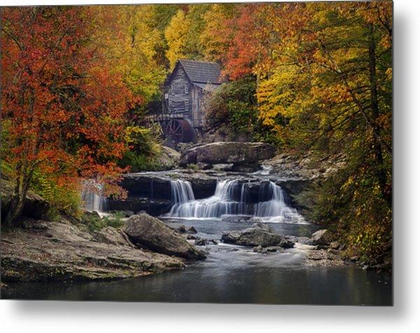 Glade Creek Grist Mill 2 Metal Print