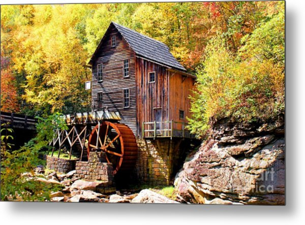 Glade Creek Mill West Virginia Metal Print