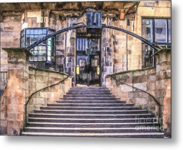 Glasgow School Of Art Metal Print