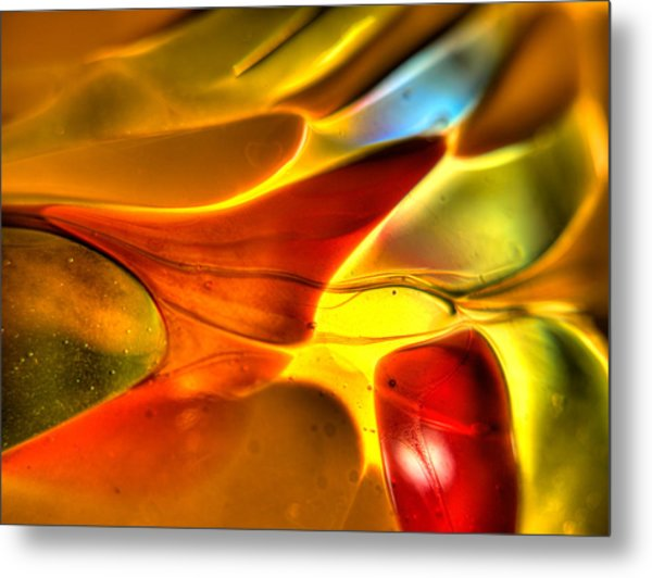 Glass And Light Metal Print