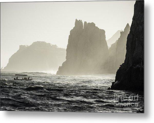 Glass Bottom Boat Metal Print by Richard Mason