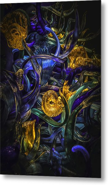 Glass Fantasy Metal Print
