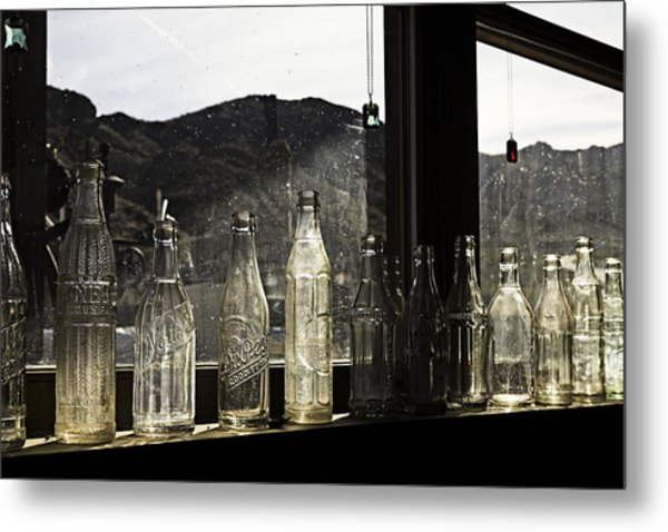 Metal Print featuring the photograph Glass In The Window  by James Sage