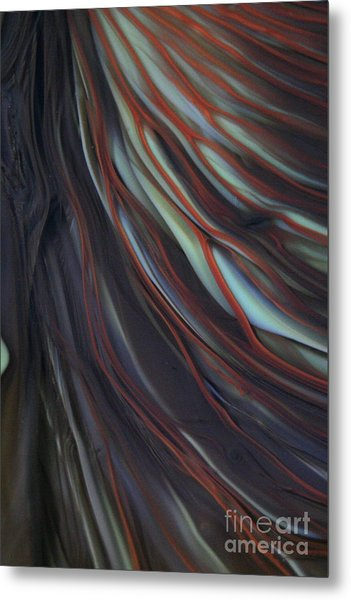 Glass Veins Metal Print