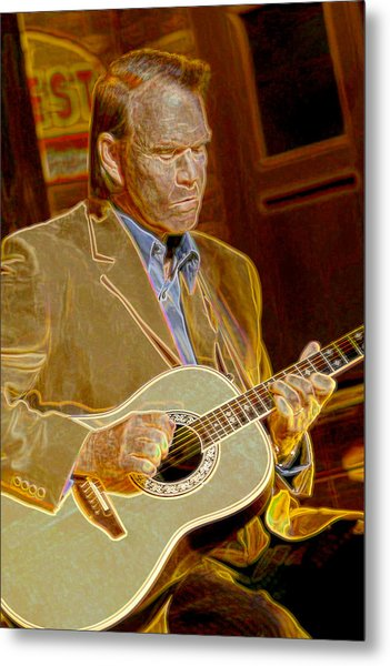 Glen Campbell Metal Print