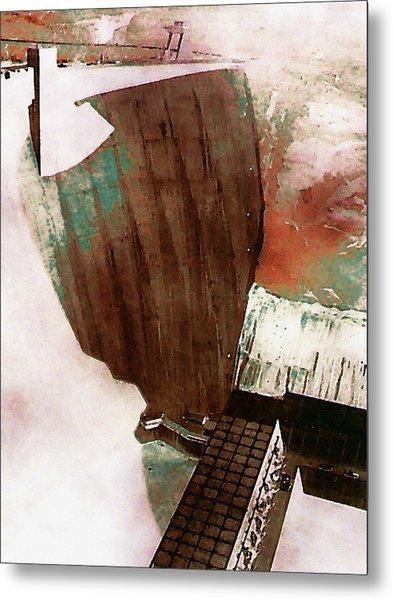 Glen Canyon Dam Metal Print