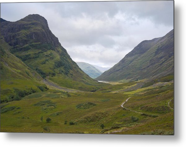 Glencoe Highlands Of Scotland Metal Print