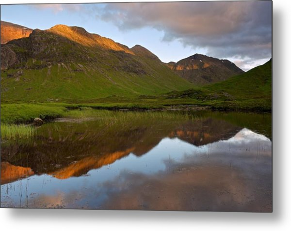 Glencoe Summer Reflections Metal Print