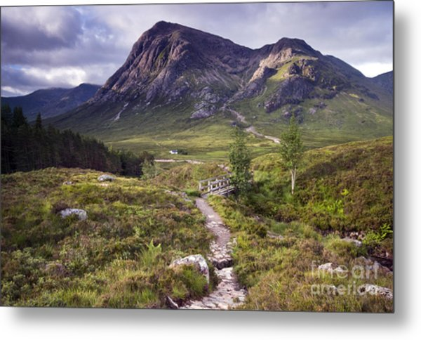 Glencoe Valley Metal Print