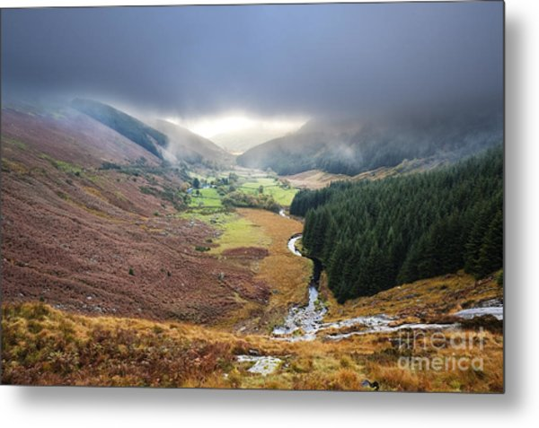 Glenmacnass 1 Metal Print by Michael David Murphy