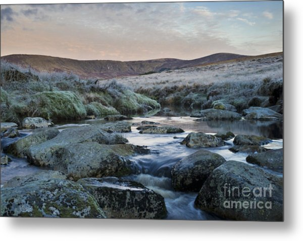Glenmacnass 3 Metal Print by Michael David Murphy