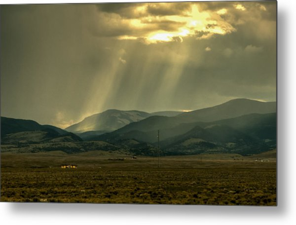 Glimmer Of Hope Metal Print
