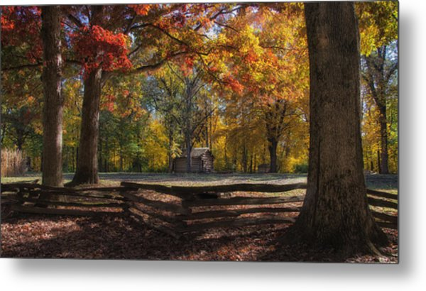 Metal Print featuring the photograph Glimpse Into The Past by Darlene Bushue