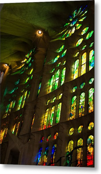 Glorious Colors And Light Metal Print