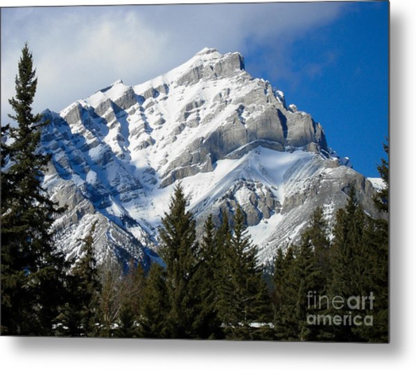 Glorious Rockies Metal Print