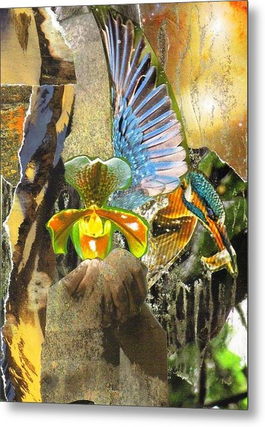 Glory Be To God For Dappled Things Metal Print