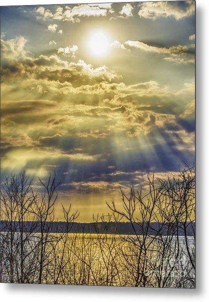 Glory Rays Metal Print