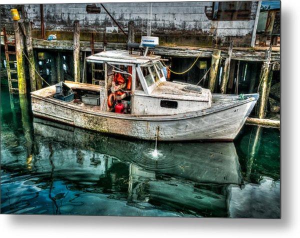 Gloucester Boat Metal Print