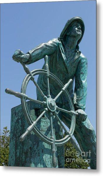 Gloucester Fisherman Metal Print
