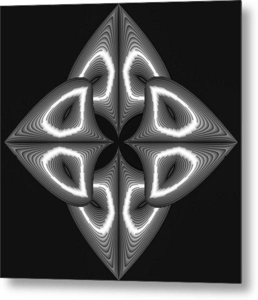 Glow In Darkness Metal Print