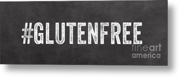 Gluten Free Metal Print