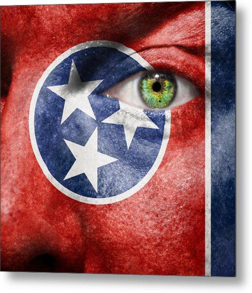Go Tennessee Metal Print