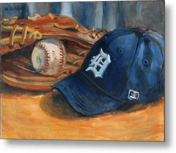 Go Tigers Painting By Nora Sallows