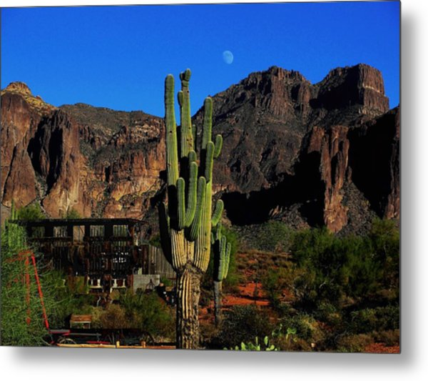 Go West Young Man Metal Print