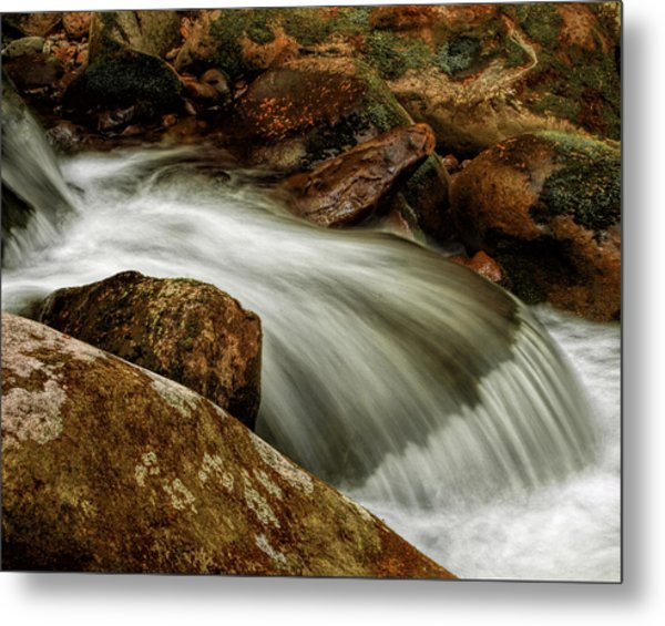 Go With The Flow Metal Print by Dave Bosse