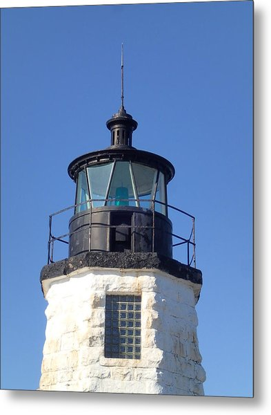 Goat Island Lighthouse Metal Print