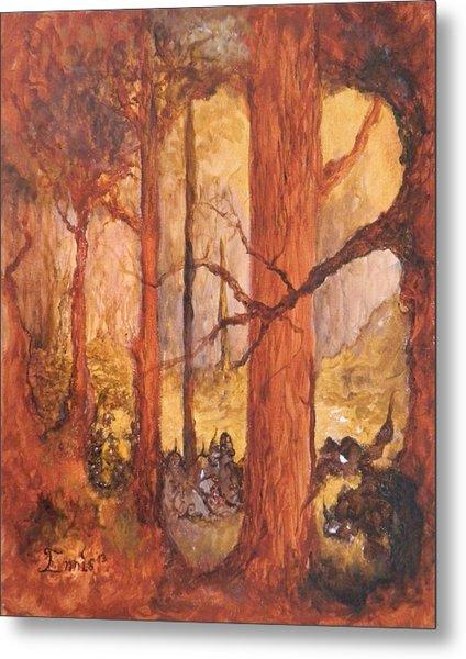 Goblins' Glen Metal Print