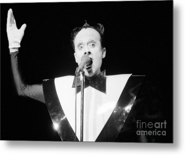 God Klaus Nomi Metal Print