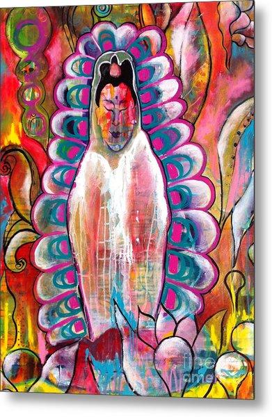 Goddess Of Compassion Metal Print