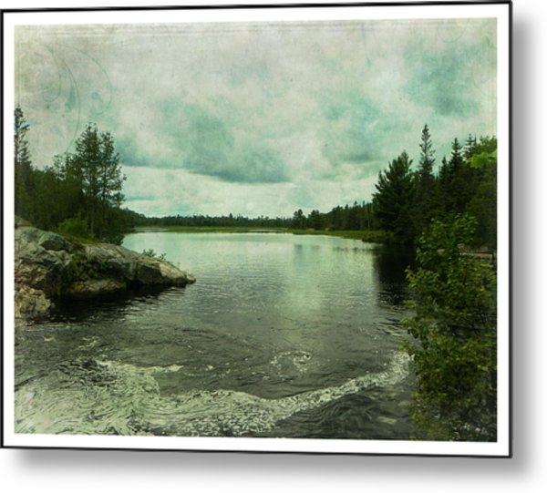 God's Country Metal Print by Dianne  Lacourciere