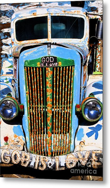 Gods Truck Metal Print