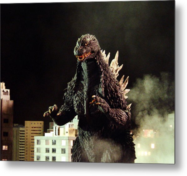 Godzilla, King Of The Monsters!  Metal Print