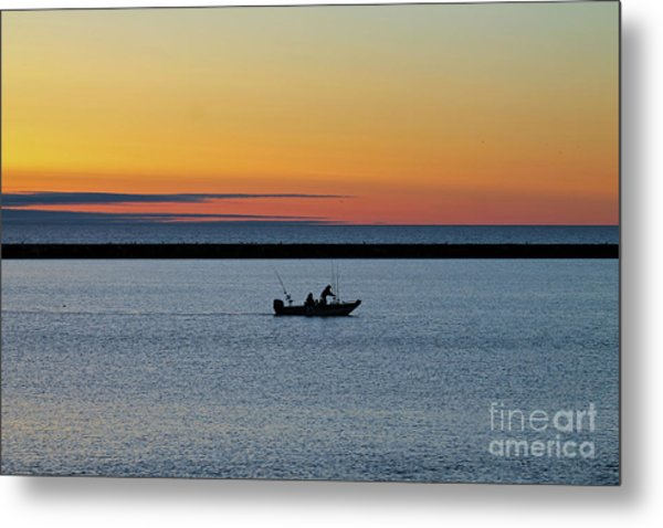 Going Fishing 2 Metal Print by Eric Curtin