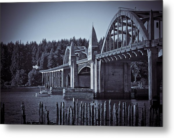 Going Fishing Metal Print by Michael Connor